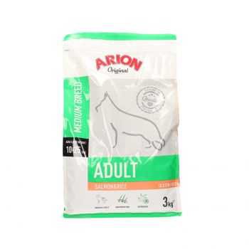 ARION ORIGINAL ADULT MEDIUM SALMON & RICE 3 KG