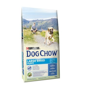 DOG CHOW PUPPY LARGE BREED INDYK 14 KG 12362420
