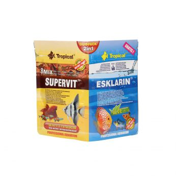 TROPICAL DUOPACK 2 W 1 (SUPERVIT 12G + ESKLARIN 10ML)   70011