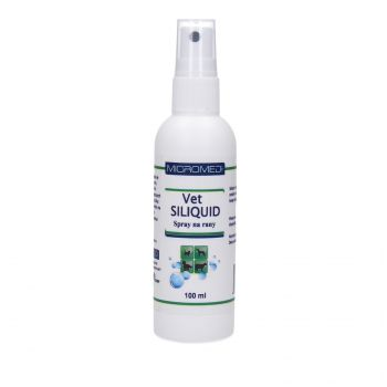 RECOVET MICROMED VET SILIQUID SPRAY NA RANY 100ML