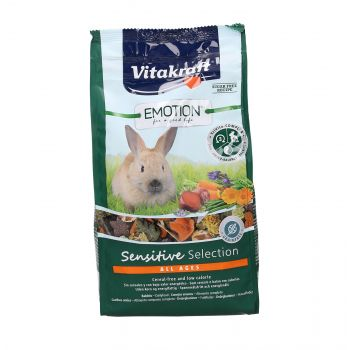 VITAKRAFT EMOTION SENSITIVE 600G KARMA DLA KRÓLIKA 2533766