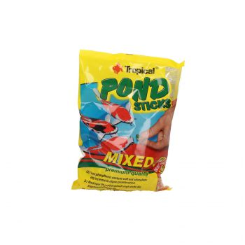 TROPICAL POND STICKS MIXED 1L (90G) WOREK  40314