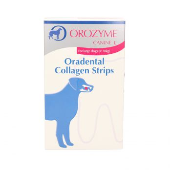 OROZYME COLLAGEN STRIPS L 141 G (POW. 30 KG) KARTON