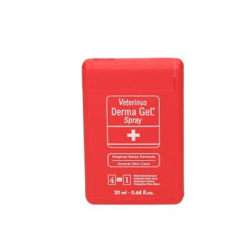 VETERINUS DERMA GEL 20 ML SPRAY