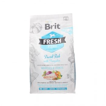 BRIT FRESH ADULT LARGE MUSCLES & JOINTS FISH WITH PUMPKIN 2,5 KG