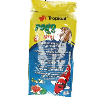 TROPICAL POND STICKS MIXED 4KG WOREK  40311
