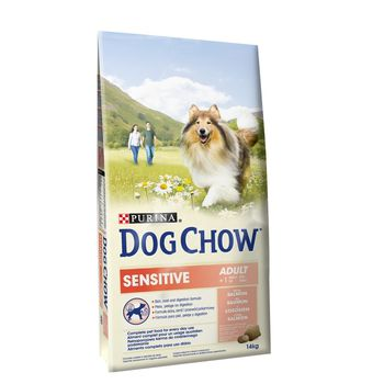 DOG CHOW ADULT SENSITIVE ŁOSOŚ 14 KG 12362422