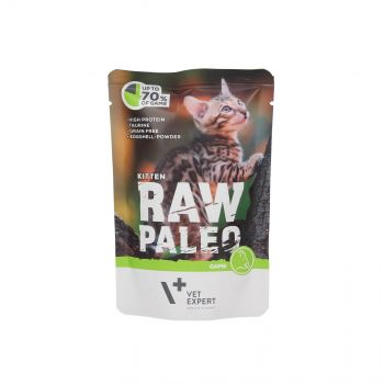 4T RAW PALEO CAT KITTEN GAME 100G MEAT SASZETKA