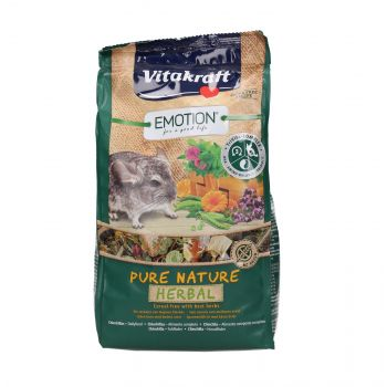 VITAKRAFT EMOTION PURE NATURE HERBAL 600G KARMA DLA SZYNSZYLI 2533785