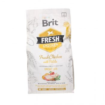 BRIT FRESH ADULT GREAT LIFE CHICKEN WITH POTATO 2,5 KG