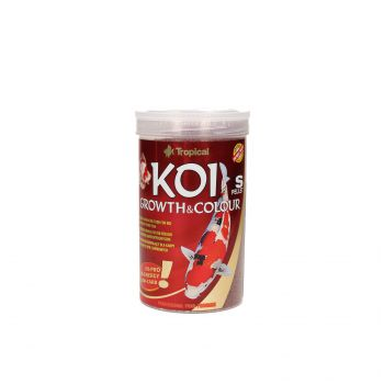 TROPICAL KOI GROWTH & COLOUR PELLET S 1L (400G) PUSZKA  45215
