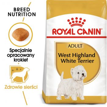 ROYAL CANIN West Highland White Terrier Adult karma sucha dla psów dorosłych rasy west highland white terrier 1,5 KG