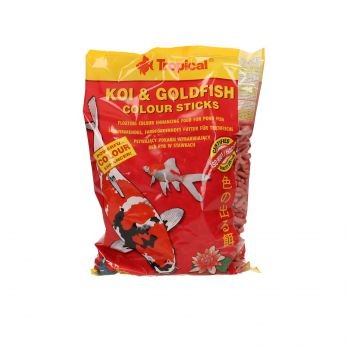 TROPICAL KOI&GOLDFISH COLOUR STICKS 1L (90G) WOREK  40354