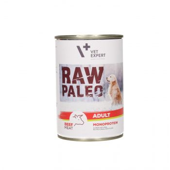4T RAW PALEO DOG ADULT BEEF MEAT 400G