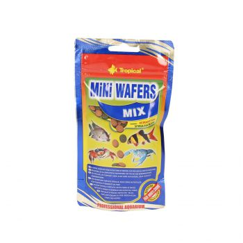 TROPICAL MINI WAFERS MIX 90G  66533