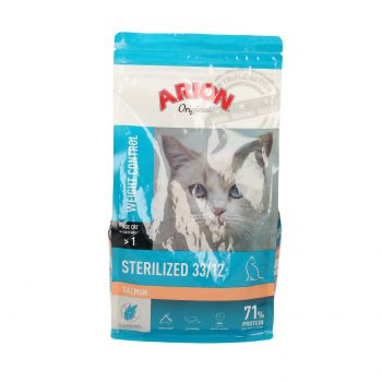 ARION ORIGINAL CAT STERILISED SALMON 2 KG