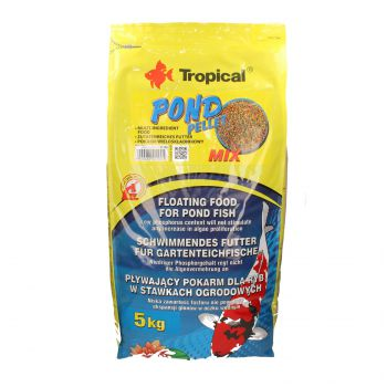 TROPICAL POND PELLET MIX 5KG WOREK  41100