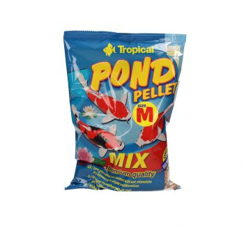 TROPICAL POND PELLET MIX SIZE M 1L (110G) WOREK  41124