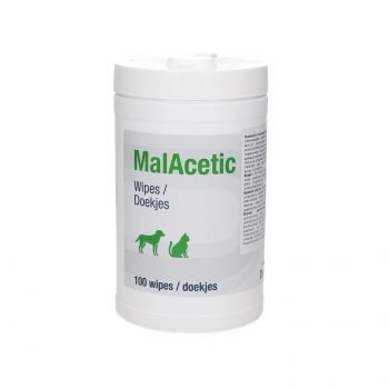 MALACETIC CLEANSING WIPES * 100 PCS