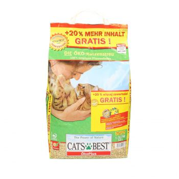 CATS BEST ORIGINAL (ECO PLUS) 10L+ 2L GRATIS