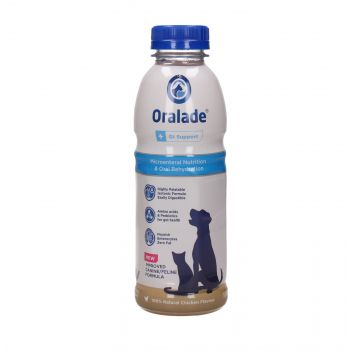 ORALADE + GL SUPPORT 6 X 500 ML