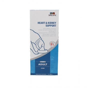 SPECIFIC CKW HEART & KIDNEY SUPPORT 6X0,3 KG