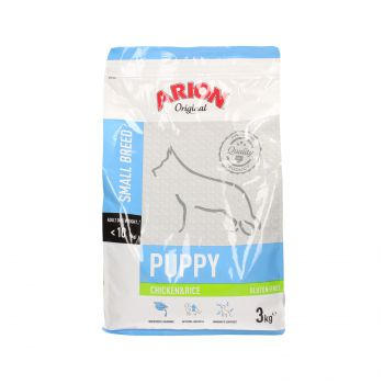 ARION ORIGINAL PUPPY SMALL CHICKEN & RICE 3 KG