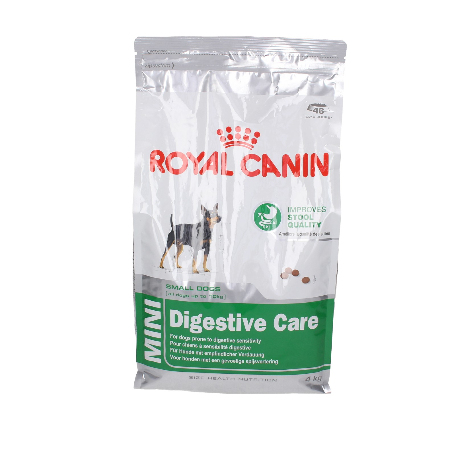 royal canin dog mini digestive care 4 kg karmy suche karmy pies sklep zoologiczny. Black Bedroom Furniture Sets. Home Design Ideas